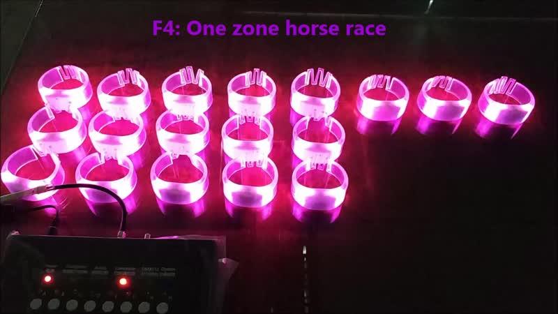 Horse racing effect LED bracelets / Светодиодный браслет