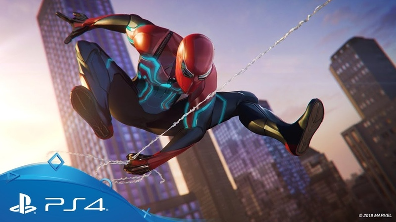 Marvel's Spider-Man | Velocity Suit Reveal | PS4