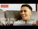 Salah's Secret How To Stop Sané | FIFA and Chill with Trent Alexander-Arnold ft. Poet Vuj
