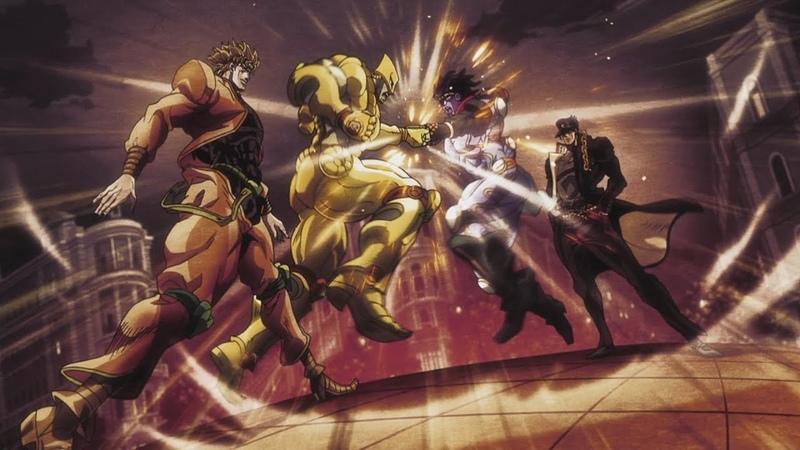 Jotaro vs Dio Ukr dub