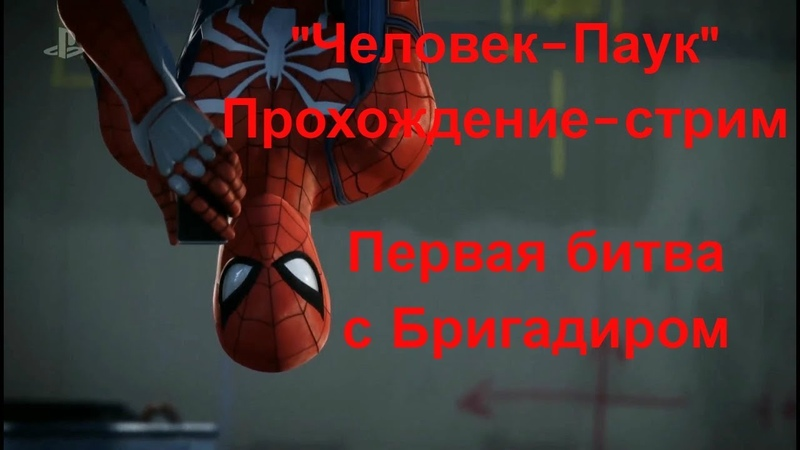 Marvel's Spider-Man / Человек-Паук. Первая битва с Бригадиром (Taskmaster)