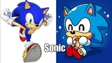 Sonic Characters As Baby