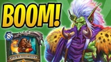 Beasts for Days! Secret Boom-Zooka Hunter w Zul'jin &amp Revenge of the Wild Rastakhan's Rumble