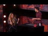 Card Magician Wows Tyra Banks on Stage!