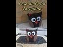 PESO PARA PORTA COM JEANS / CORUJINHA /DIY