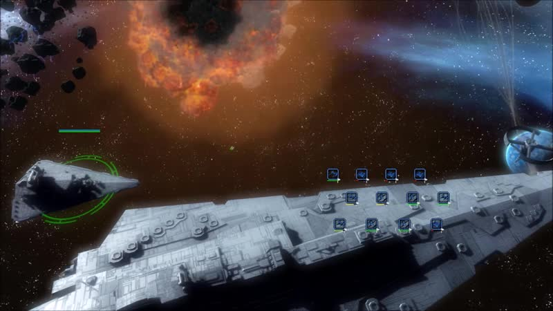 [Oreo Oreo] Starwars Empire At War Re - Huge space battle