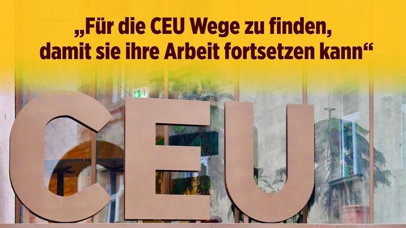 Bayern will Lehrstühle an von George Soros gegründeter Hochschule finanzieren