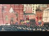 Сын участник парада вместе с Дмитрием Харатьян