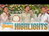 Magandang Buhay TNT Boys kick off the show with their rendition of Forevers Not Enough