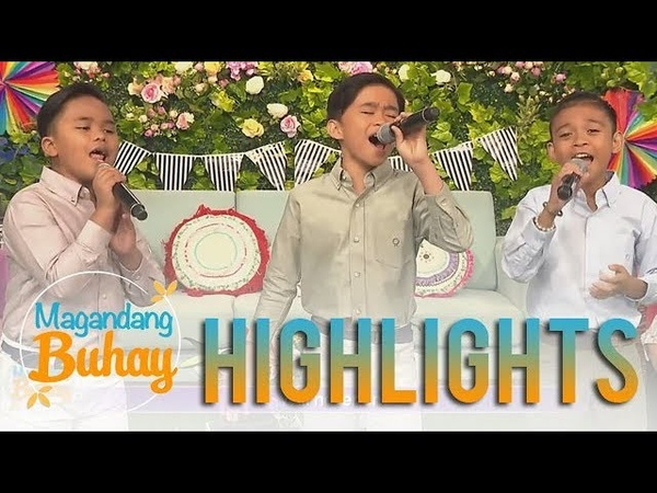"""Magandang Buhay: TNT Boys kick off the show with their rendition of """"Forever's Not Enough"""""""