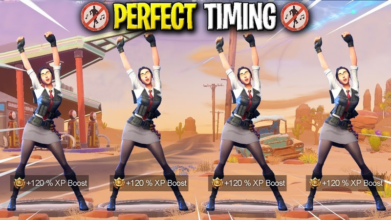 TOP 50 PERFECT TIMING DANCES IN FORTNITE BATTLE ROYALE!