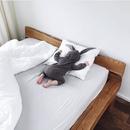 На подушке тихо-тихо
