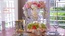 DIY Tall Tower Crystal Wedding Centerpiece| Dollar Tree