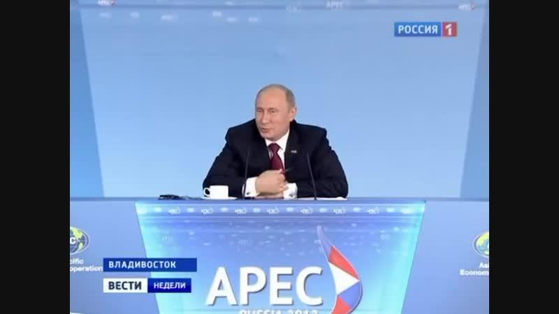 Вести недели первый выпуск с Дмитрием Киселёвым 09.09.2012