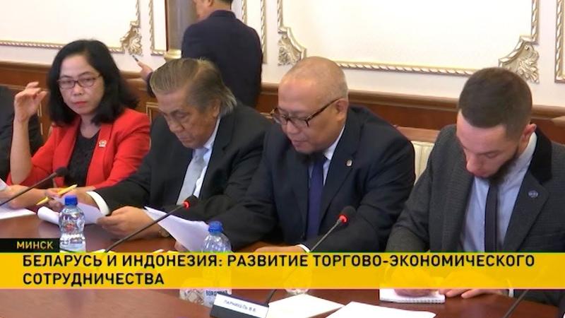 Беларусь и Индонезия будут развивать торгово-экономическое сотрудничество