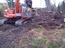 Stump Harvesting in Finland