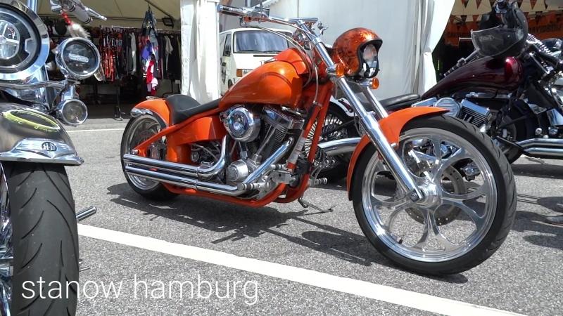 Мотоциклы Харлей Дэвидсон. Гамбург 2018 Harley Davidson Days 2018