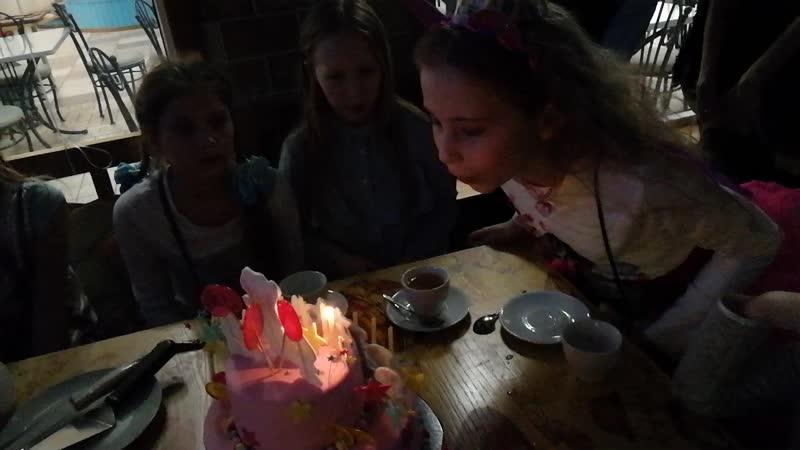 Вынос торта!