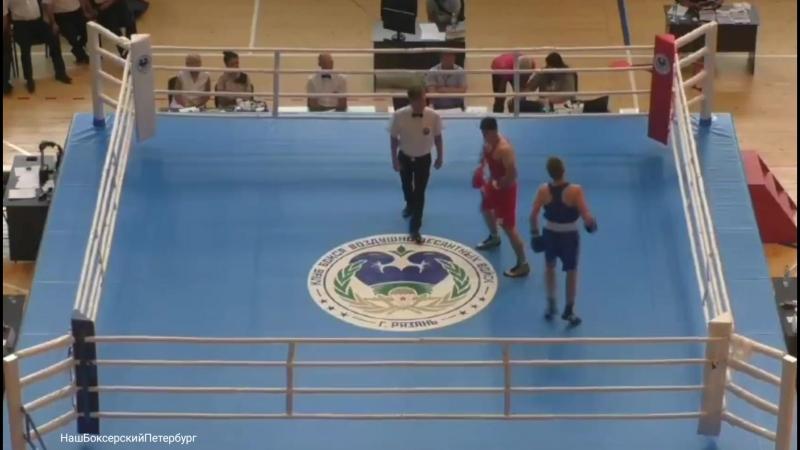 Муртазалиев Магомед (СПБ) vs Косарев Николай (Тула) 69кг