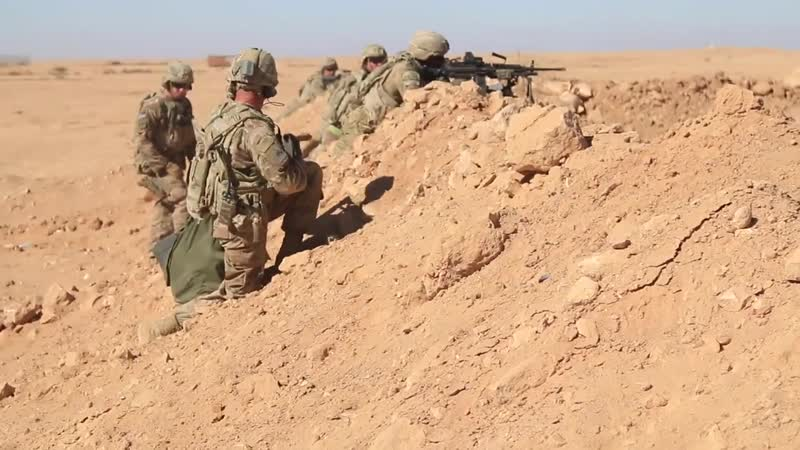 3CR Aerial Response Force Live-Fire Exercise AL ASAD AIR BASE, IRAQ 31.10.2018