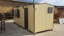Дачный домик 6х2,4м со ставнями, кондиционером и санузлом.