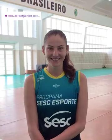 "Fans_Kosheleva on Instagram: ""Say hi 😘🇧🇷💙 @sescriovolei koshelevavolleyballplayer volleyrussia sescrio brazil2018/19"""