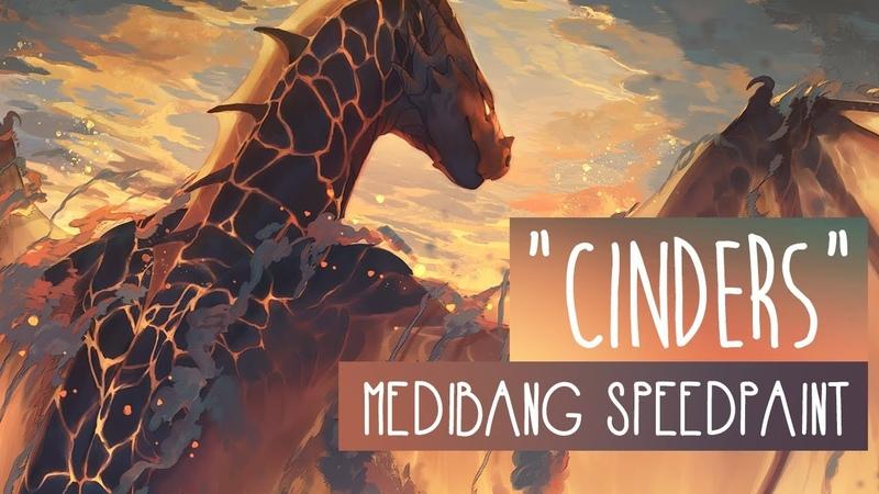 Cinders | SPEEDPAINT | Medibang Paint Pro