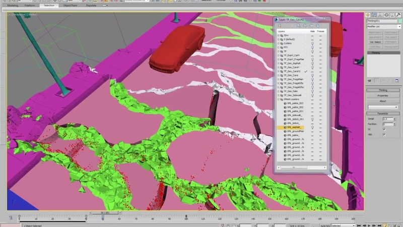 Thinking Particles 2012 Quake Webinar 02 - Ground Low Res Russian language