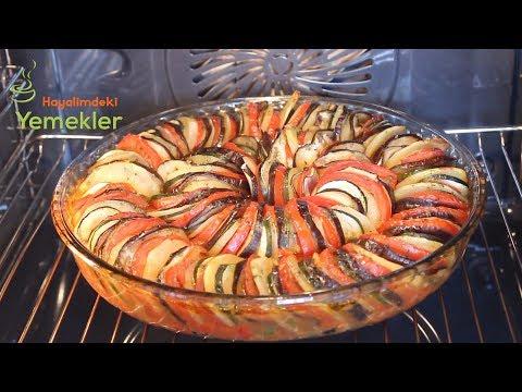 Ratatuy Tarifi Ratatouille Recette Ratatuy Nasıl Yapılır Hayalimdeki Yemekler