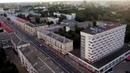 Вид с воздушного шара на центр Витебска