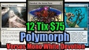 Budget Modern Blue White Polymorph vs Mono White Devotion
