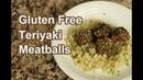 Gluten Free Teriyaki Meatballs Over Cauliflower Rice   Rockin Robin Cooks