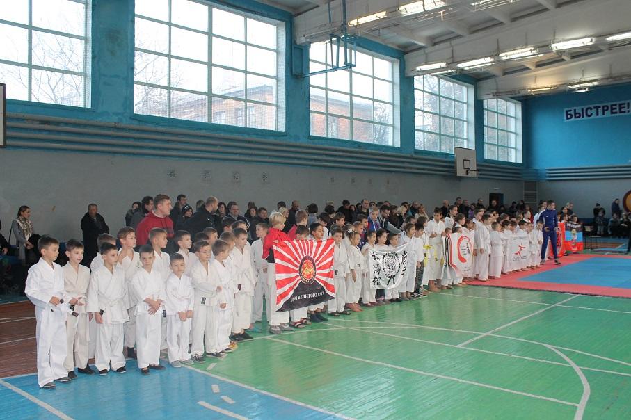 В Ворошиловском районе прошли соревнования по каратэ JKS