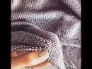 ♥Как подшить край вязания чтобы красиво и не тянуло♥