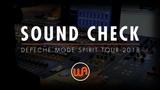 Warm Audio SOUND CHECK WITH JAMES IVEY - DEPECHE MODE SPIRIT TOUR 2018