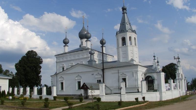 храм святителя Иоанна Златоуста село годеново .