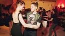 Black and White Party. Ivan Bubnov and Evgenia Stecenko. Zouk improvisation. (Breathe)