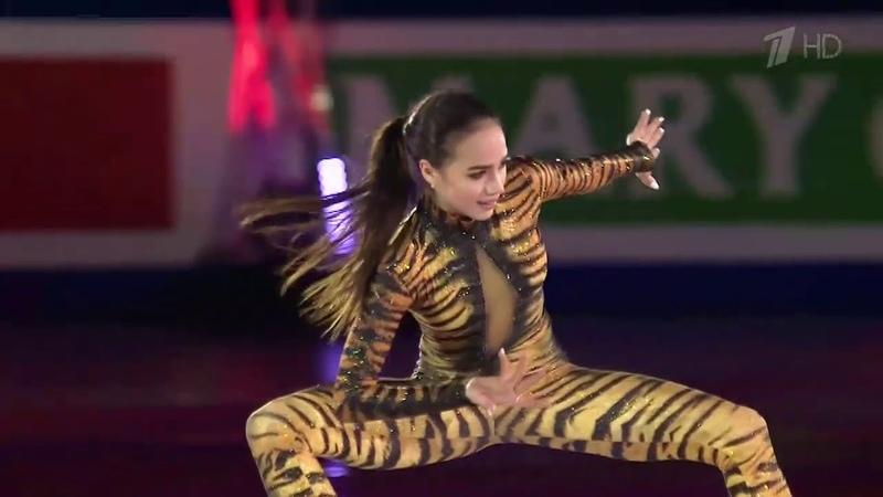 Показательные Алина Загитова - тигрица, ворожея льда!