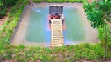Build Secret Home Under Swimming Pool