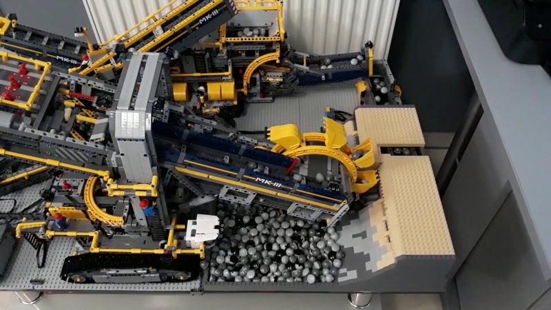 Lego 42055 a en b model