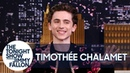 Timothée Chalamet Reacts to Being Photoshopped into Artwork Memes