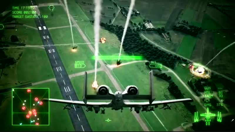 Ace Combat 7 Skies Unknown - PS4_⁄XB1_⁄PC - A-10C Aircraft Focus.mp4