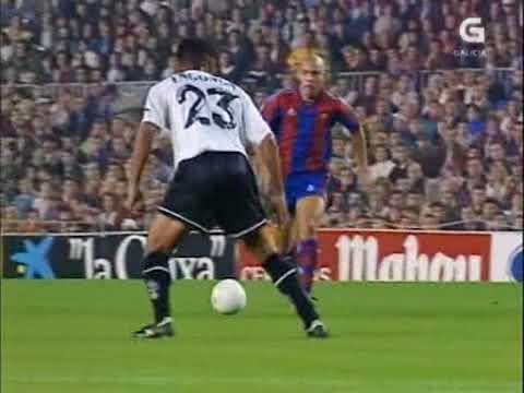 26 10 1996 Чемпионат Испании 10 тур Барселона Валенсия 3 2