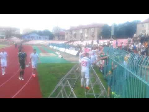 Подяка від футболістів і тренерів Фк Волинь фанатам