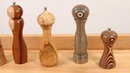 Pepper and Salt Mill Selection at Craft Supplies USA (Woodturning)