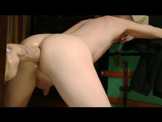 Hc_skinny twink_dildo anal ride