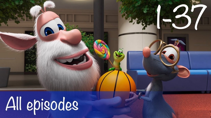 Booba - Compilation of All 37 episodes Bonus - Cartoon for kids