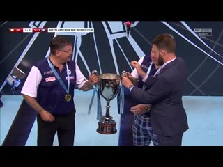 Scotland are the winners of the world cup of darts!