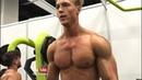 Fitness Model Hagen Richter Gym Pump Styrke Studio (Full vid link below)