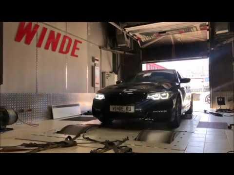 Чип тюнинг BMW G30 530d плюс активный звук выхлопа от